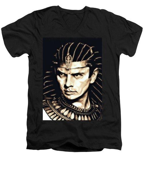 Ramses II Men's V-Neck T-Shirt by Fred Larucci