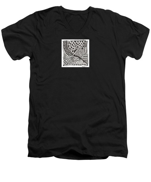 Random IIi Men's V-Neck T-Shirt by Molly Williams