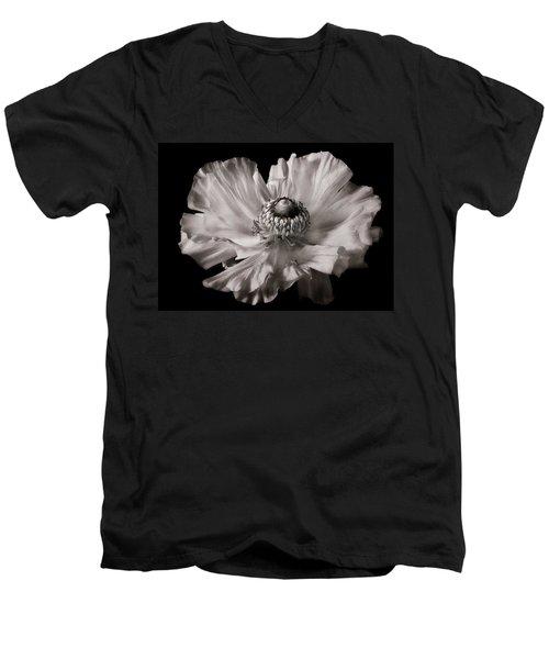 Ranunculus  Men's V-Neck T-Shirt