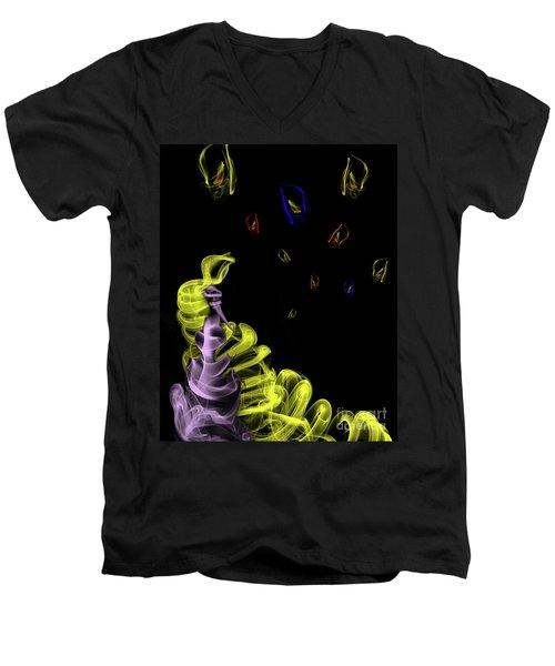Rapunzel's Magic Hair Men's V-Neck T-Shirt