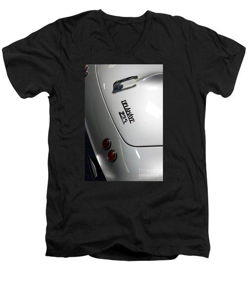 Rare Cabriolet Men's V-Neck T-Shirt by Jason Abando