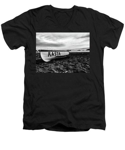 Rasta Noire  Men's V-Neck T-Shirt