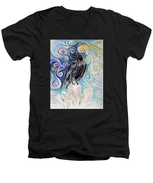 Raven Magic Men's V-Neck T-Shirt