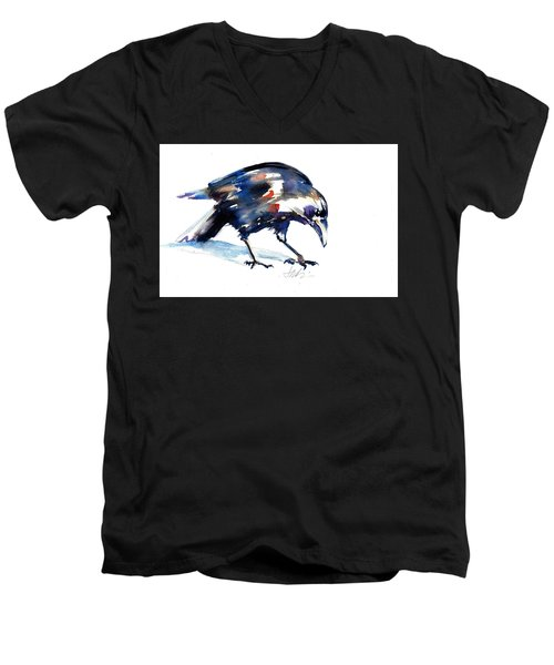 Raven Shadow From Vancouver Men's V-Neck T-Shirt