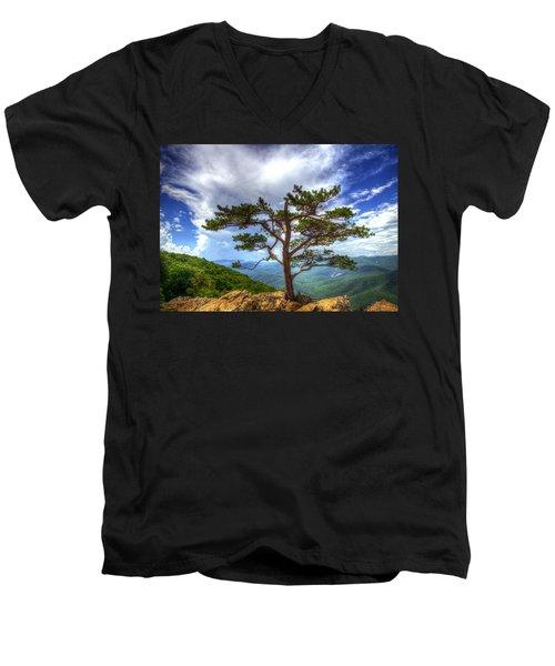 Ravens Roost Tree Men's V-Neck T-Shirt