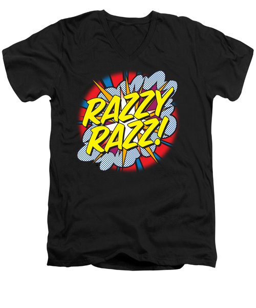Razzy Razz Men's V-Neck T-Shirt