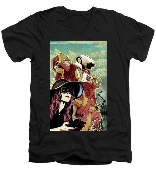 RC Men's V-Neck T-Shirt