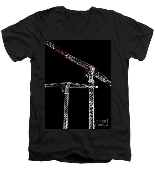 Reach For The Sky Men's V-Neck T-Shirt