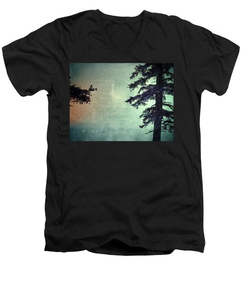 Men's V-Neck T-Shirt featuring the photograph Reach Me  by Mark Ross