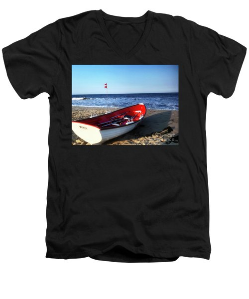 Ready To Row Men's V-Neck T-Shirt