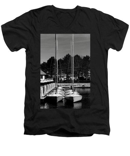 Ready To Sail Men's V-Neck T-Shirt