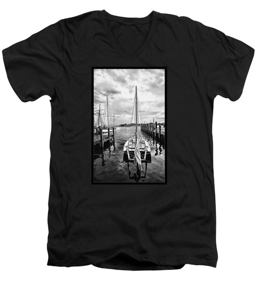 Ready To Set Sail Men's V-Neck T-Shirt