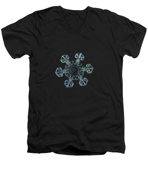 Real Snowflake - Ice Crown New Men's V-Neck T-Shirt
