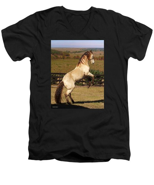Wild At Heart Men's V-Neck T-Shirt