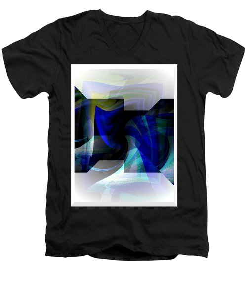 Transparency 2 Men's V-Neck T-Shirt by Thibault Toussaint