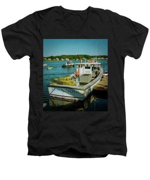 Rebounder Men's V-Neck T-Shirt