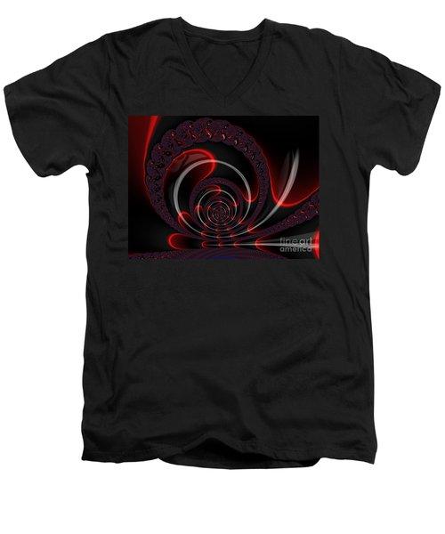 Red Cobra Men's V-Neck T-Shirt