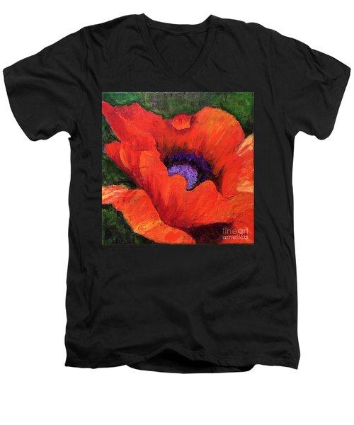 Red Rhapsody Men's V-Neck T-Shirt