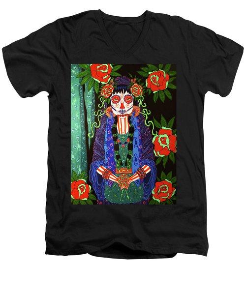 Red Roses Men's V-Neck T-Shirt