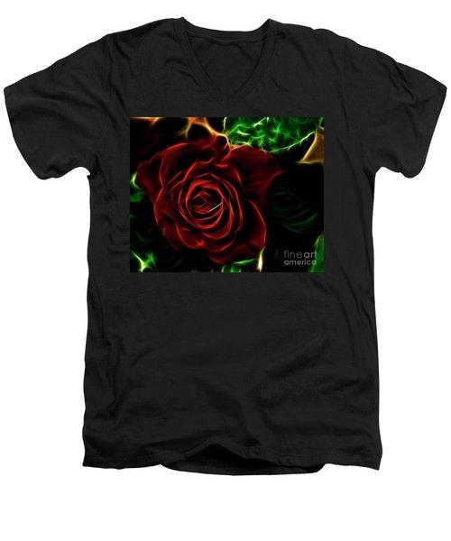 Red's Passion Men's V-Neck T-Shirt