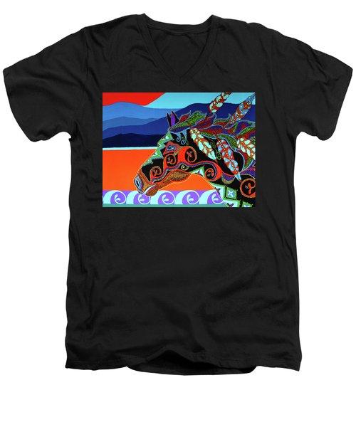 Redsky 01 Men's V-Neck T-Shirt