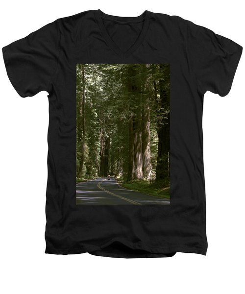 Redwood Highway Men's V-Neck T-Shirt