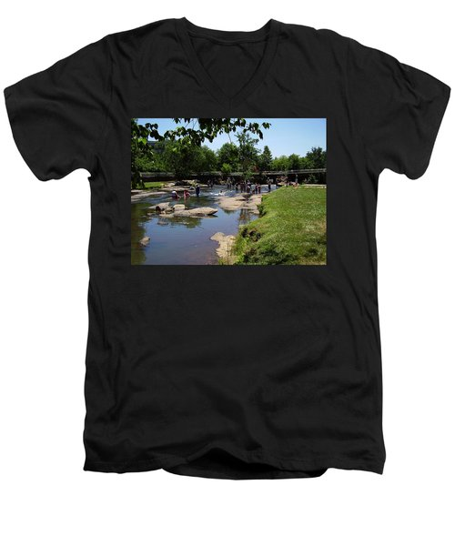 Reedy River Men's V-Neck T-Shirt