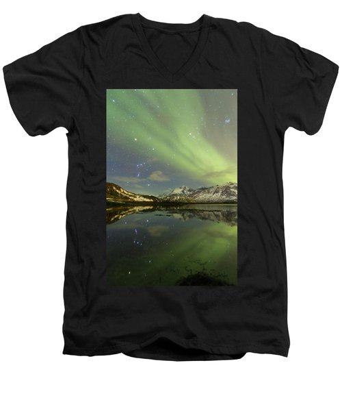 Reflected Orion Men's V-Neck T-Shirt
