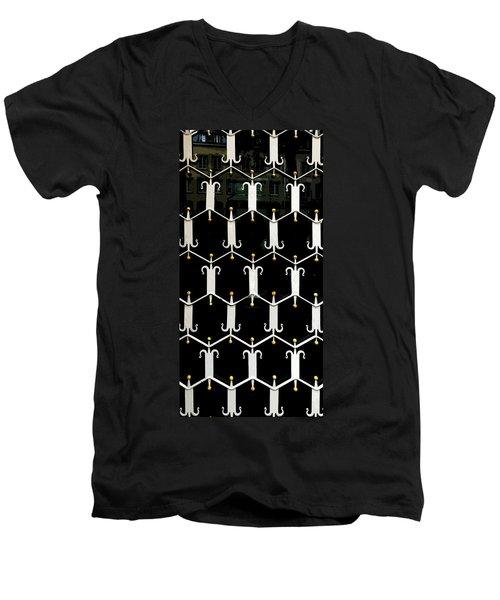Reflections In A Doorway Men's V-Neck T-Shirt