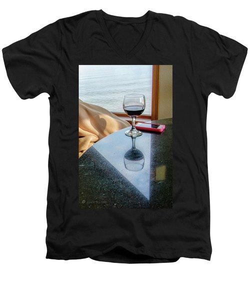 Reflections Lake Superior.... Men's V-Neck T-Shirt