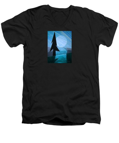 Reflections On The Day Men's V-Neck T-Shirt