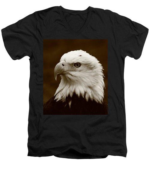 Regal  Eagle Men's V-Neck T-Shirt
