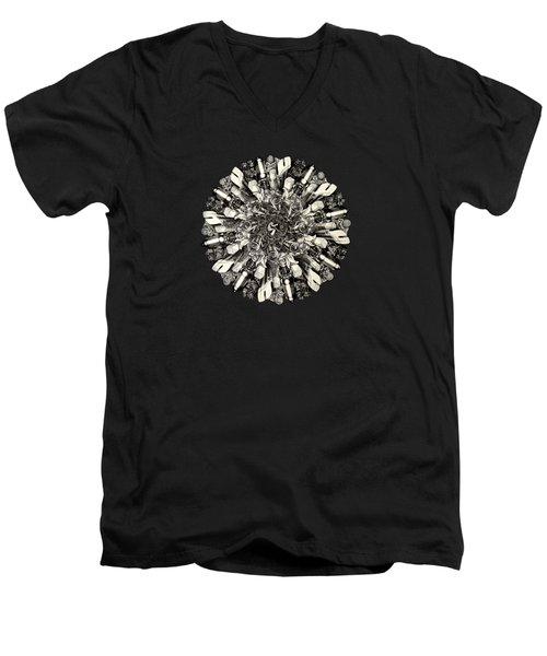 Reinventing The Wheel Men's V-Neck T-Shirt