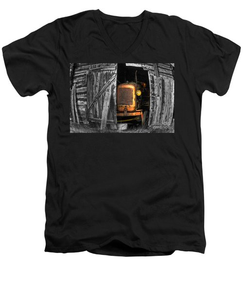 Relic From Past Times Men's V-Neck T-Shirt