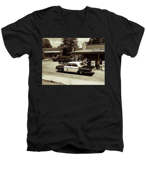 Reminder Of Times Past Men's V-Neck T-Shirt
