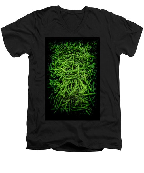 Renaissance Green Beans Men's V-Neck T-Shirt