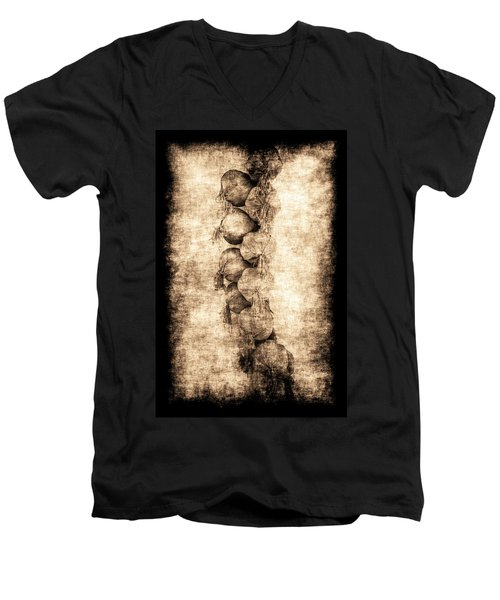 Renasiaance Garlic Men's V-Neck T-Shirt