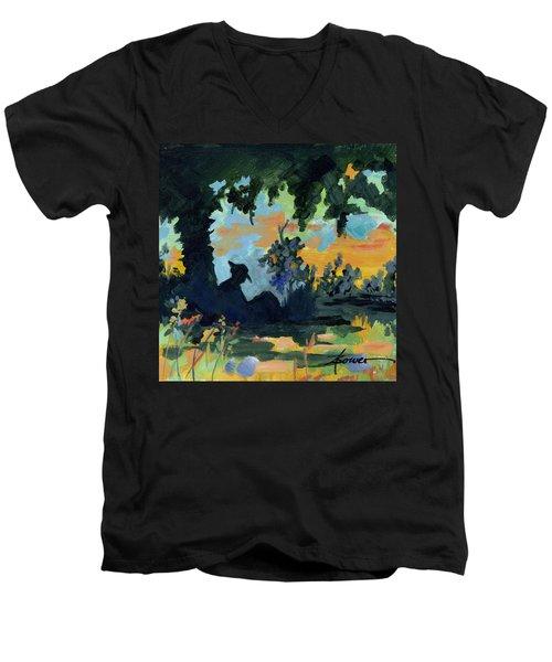 Rest A Minute Men's V-Neck T-Shirt