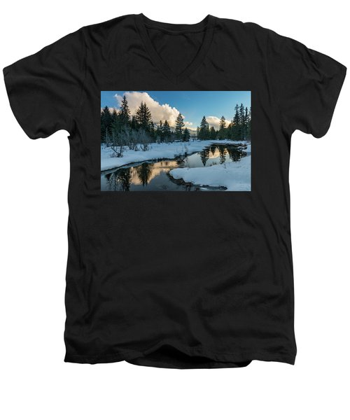 Resting Creek Men's V-Neck T-Shirt