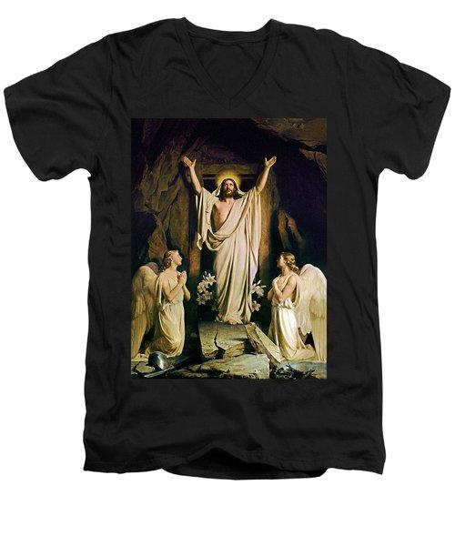 Resurrection Men's V-Neck T-Shirt