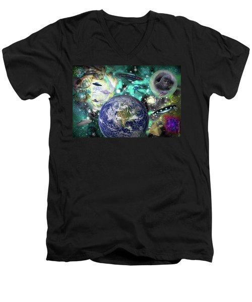 Return Of The Elders 3 Men's V-Neck T-Shirt