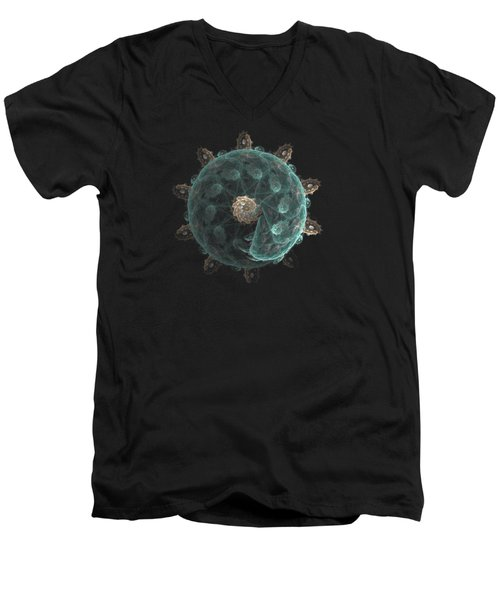 Revolving And Evolving Men's V-Neck T-Shirt