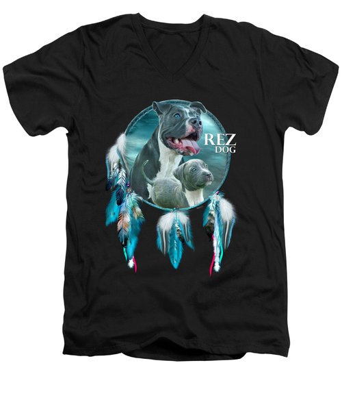Rez Dog Cover Art Men's V-Neck T-Shirt
