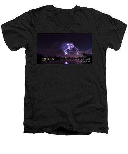 Rfp 8 Men's V-Neck T-Shirt by Quinn Sedam