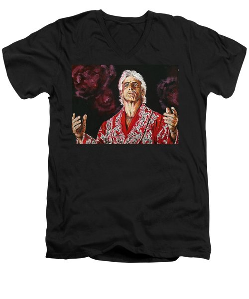 Ric Flair Men's V-Neck T-Shirt