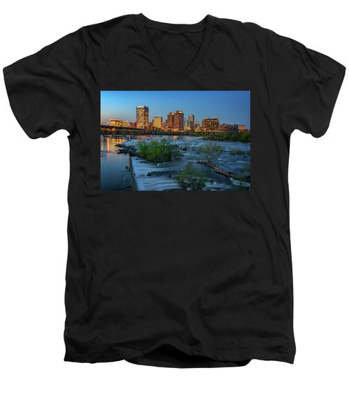 Richmond Twilight Men's V-Neck T-Shirt