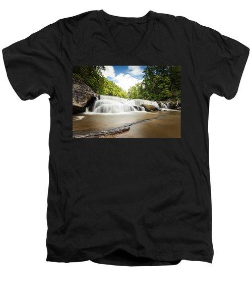 Riley Moore Falls Men's V-Neck T-Shirt