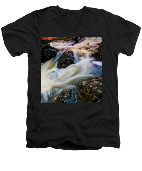 River Dance Men's V-Neck T-Shirt