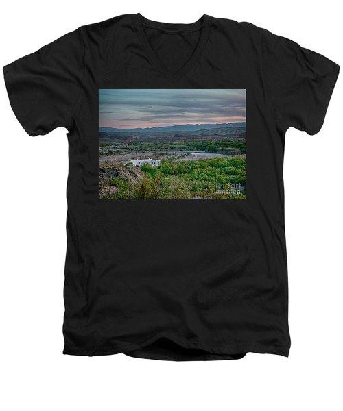 River Overlook Men's V-Neck T-Shirt