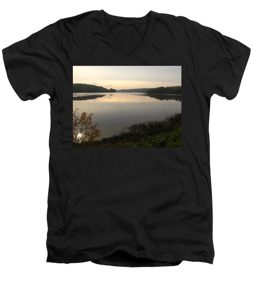 River Solitude Men's V-Neck T-Shirt
